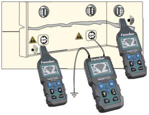 fs801 forscher detektor szukacz par traser Wyszukiwanie gniazd elektrycznych oraz węzłów elektrycznych (puszek)