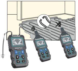 wyszukiwanie przerw w instalacjach elektrycznych testerem fs801 forscher