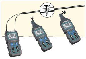 forscher fs801 szukacz traser detektor kabli komplet wyszukiwanie przerw w intalacjach ogrzewania podłogowego