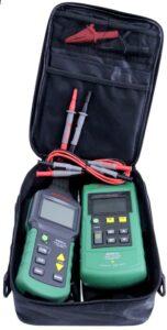 detektor mastech ms6818 wqykrywa przerwy w instalacji elektrycznej