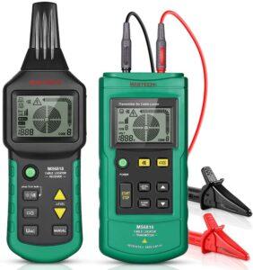 szukacz kabli rur przewodów detektor traser mastech ms6818