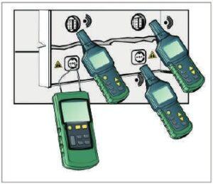 mastech ms6818 wyszukiwanie gniazd i puszek elektrycznych